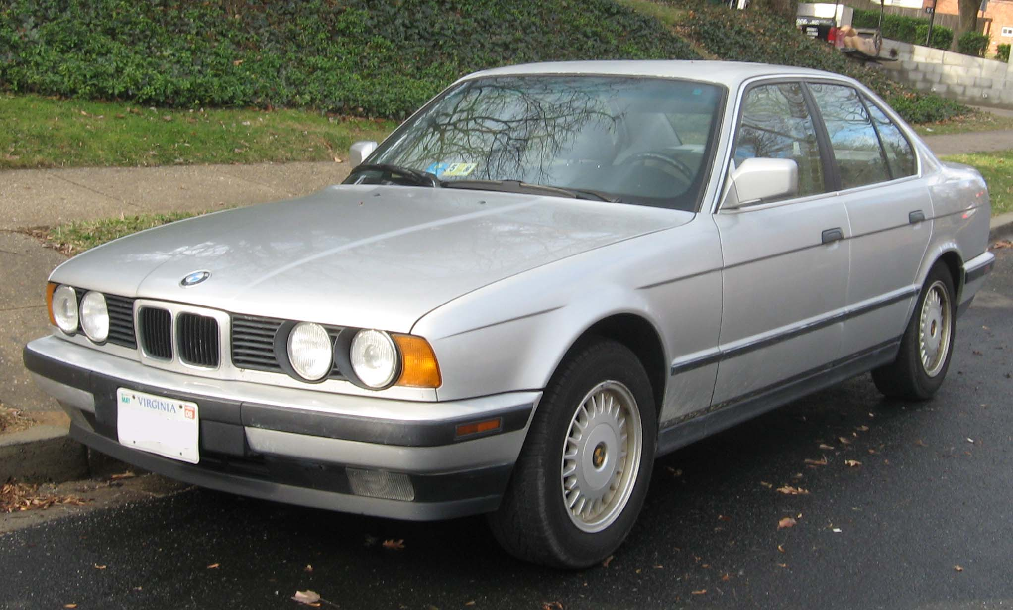 BMW 5 series 530i 1988 photo - 10