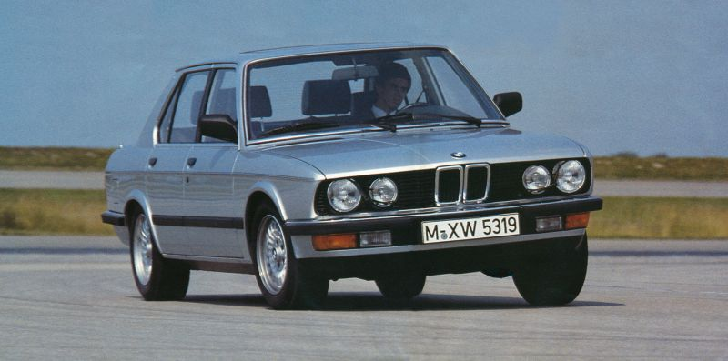 BMW 5 series 535i 1984 photo - 1