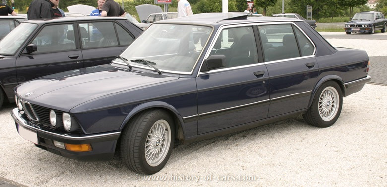 BMW 5 series 535i 1984 photo - 6
