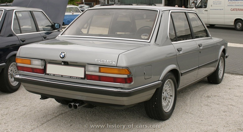 BMW 5 series 535i 1984 photo - 9
