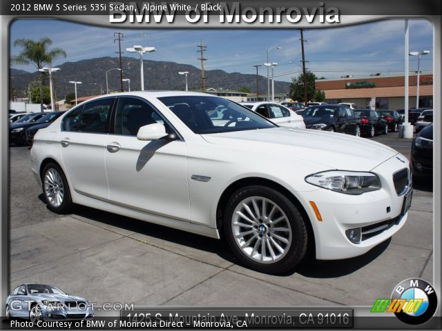 BMW 5 series 535i 2012 photo - 8