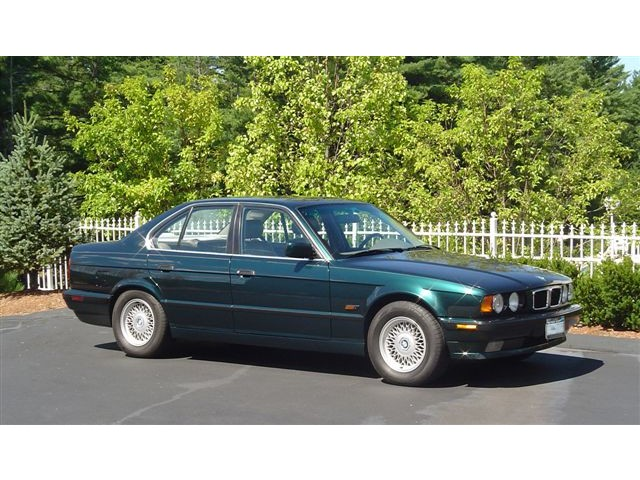 bmw 5 series 540i 1994 technical specifications interior. Black Bedroom Furniture Sets. Home Design Ideas