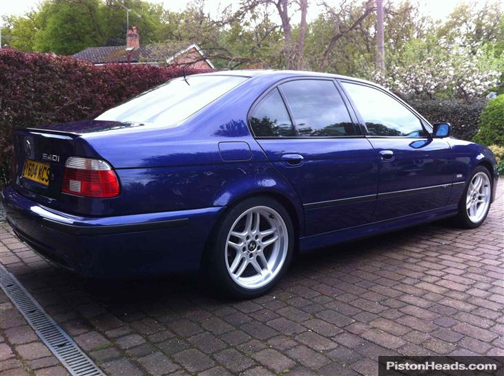 BMW 5 series 540i 2001 photo - 5