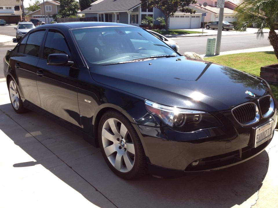 BMW 5 series 550i 2007 photo - 3