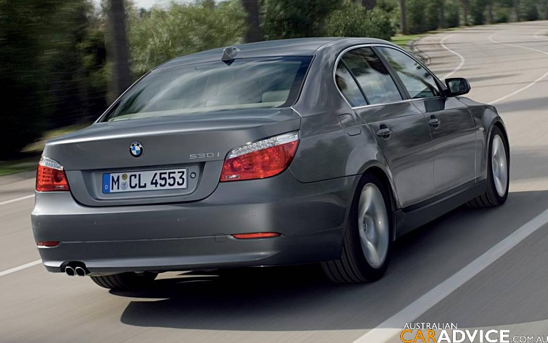 BMW 5 series 550i 2007 photo - 9