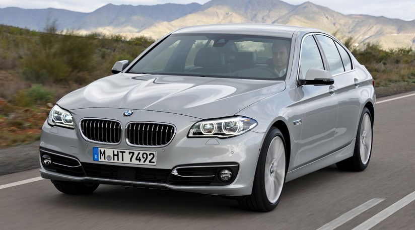 BMW 5 series 550i 2014 photo - 4