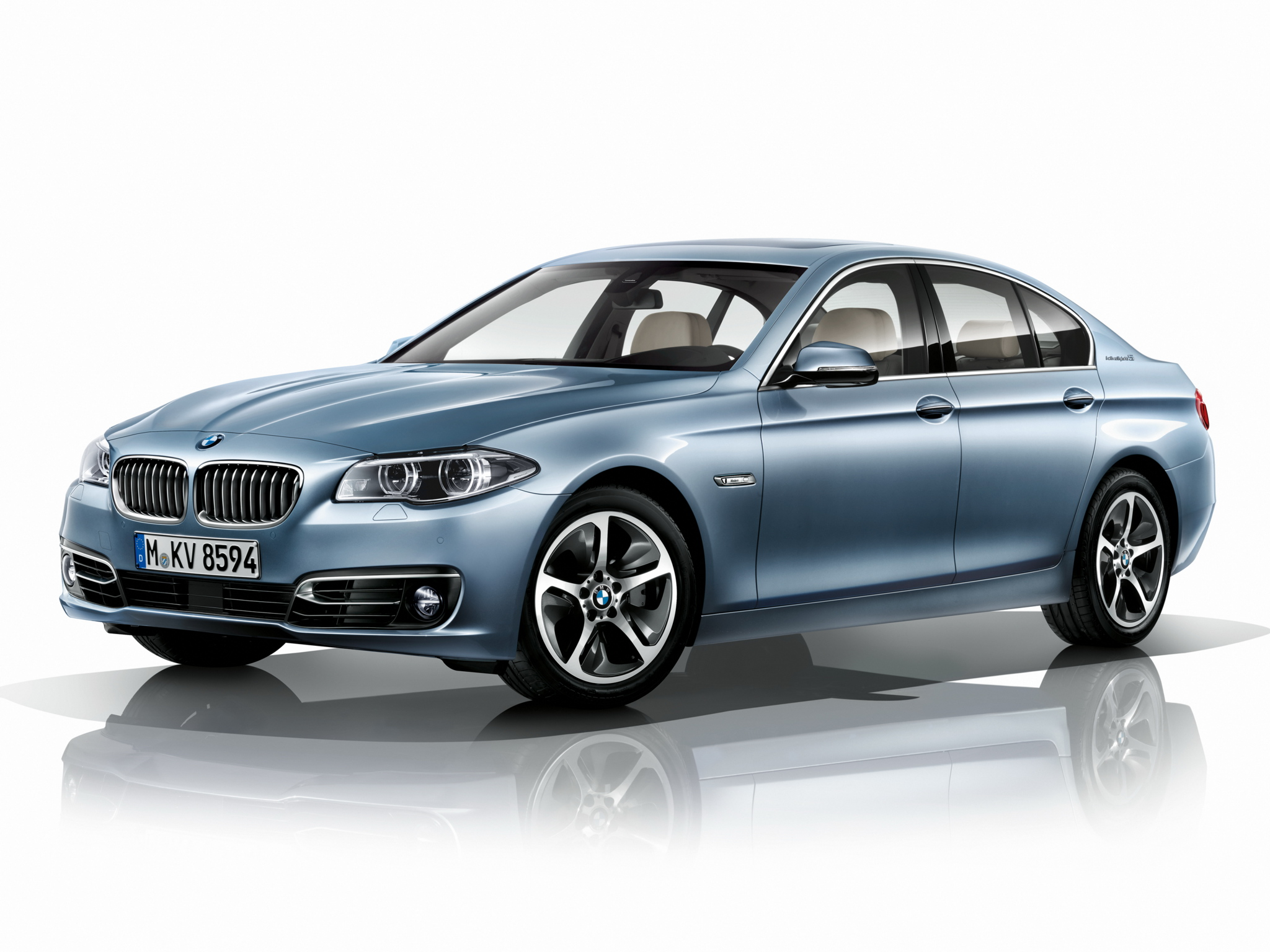 BMW 5 series ActiveHybrid 2013 photo - 1