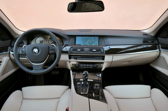 BMW 5 series ActiveHybrid 2013 photo - 11