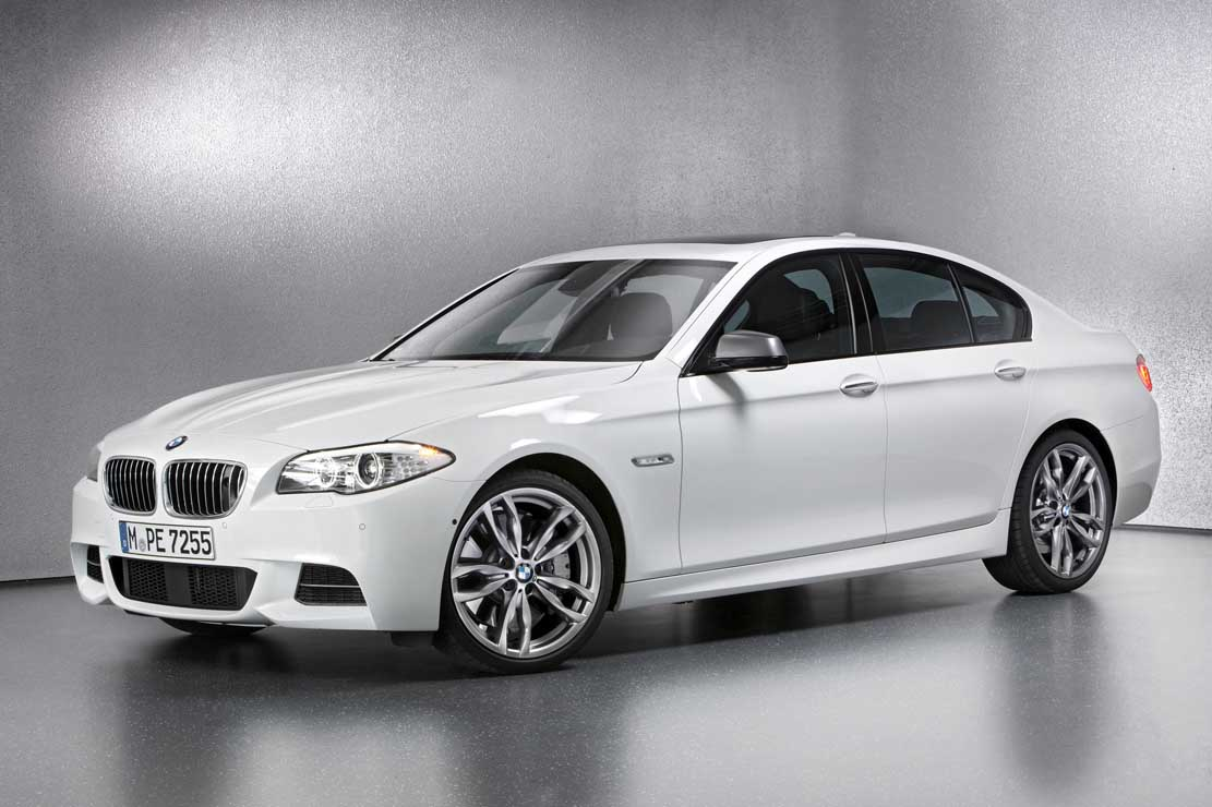 BMW 5 series M550d 2013 photo - 1
