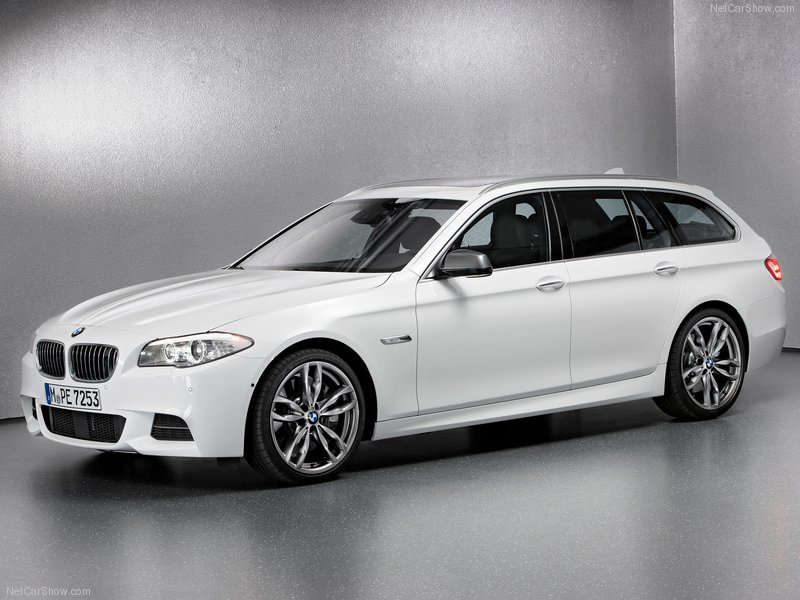 BMW 5 series M550d 2013 photo - 10