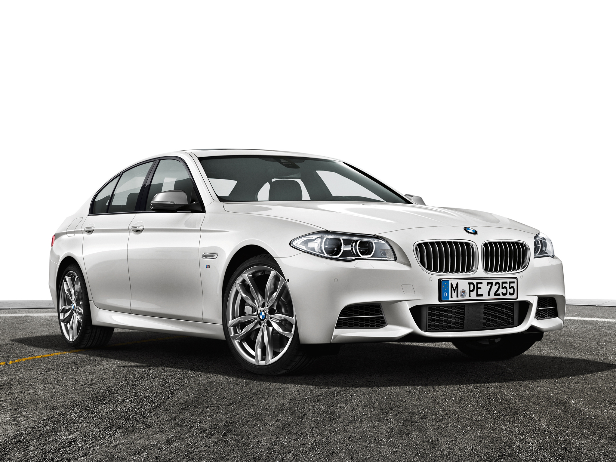 BMW 5 series M550d 2013 photo - 3