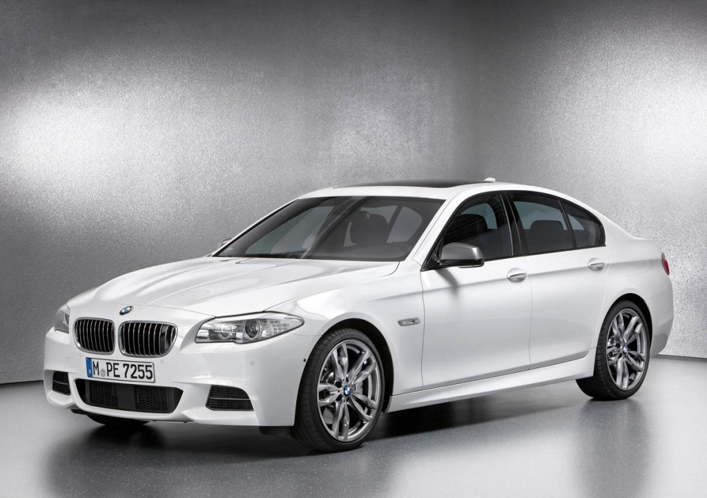 BMW 5 series M550d 2013 photo - 6