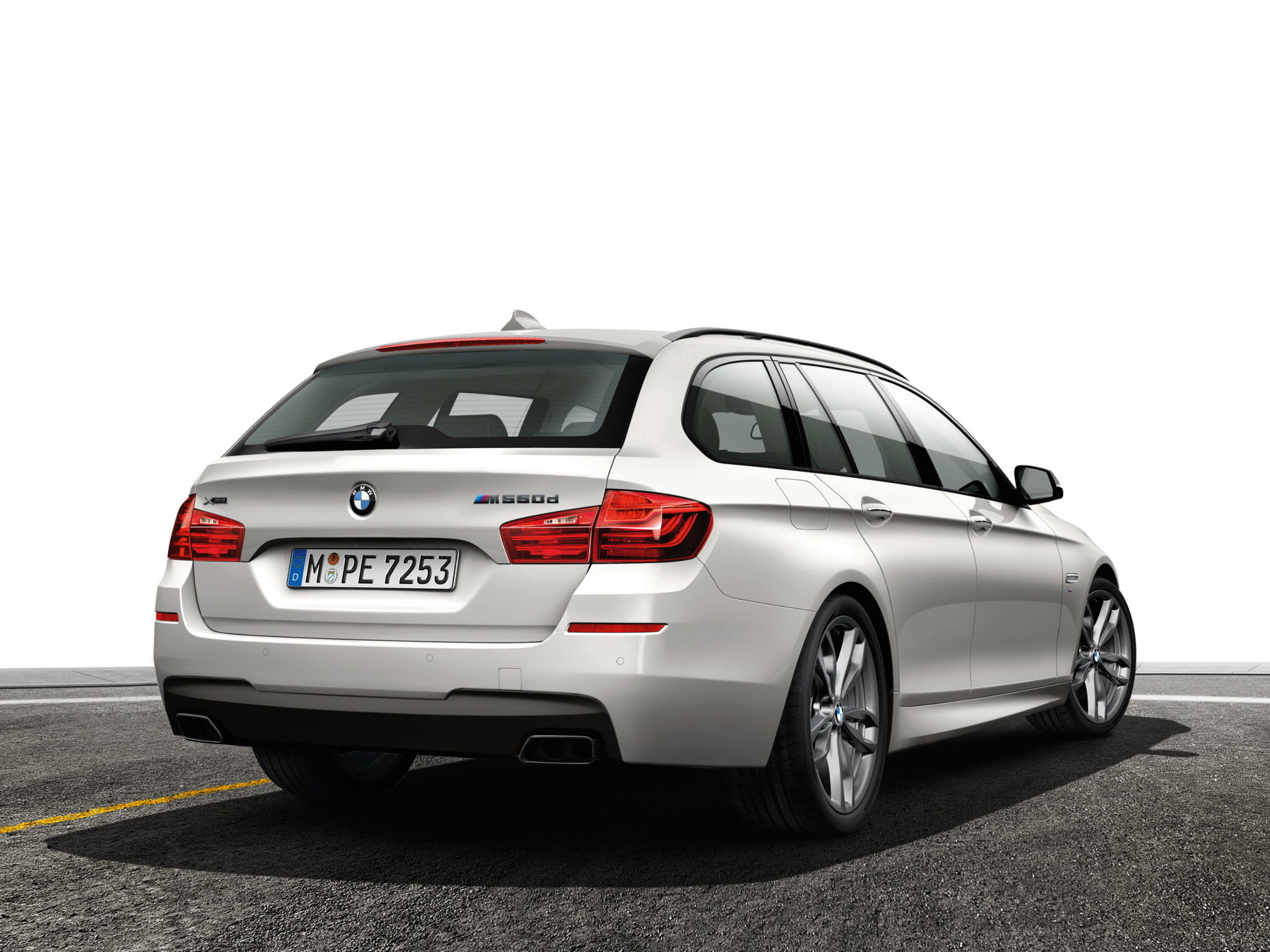 BMW 5 series M550d 2013 photo - 8