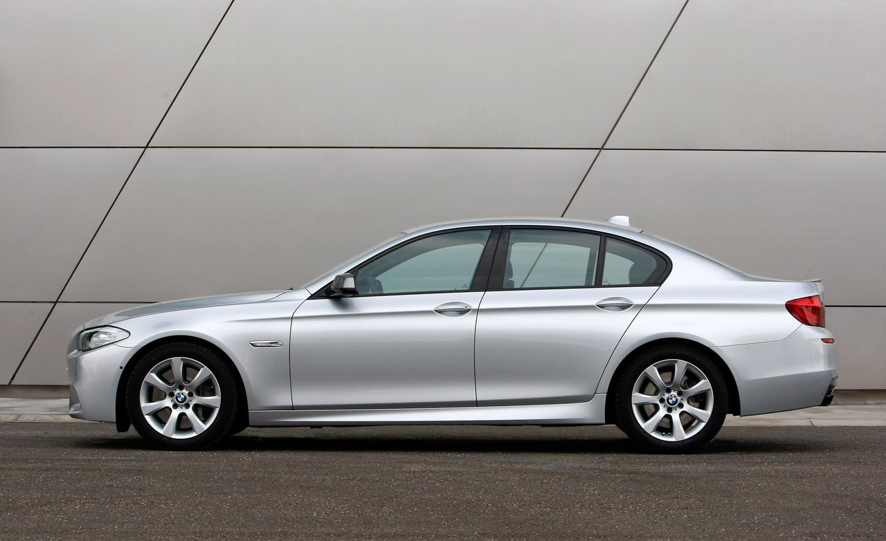 BMW 5 series M550d 2013 photo - 9