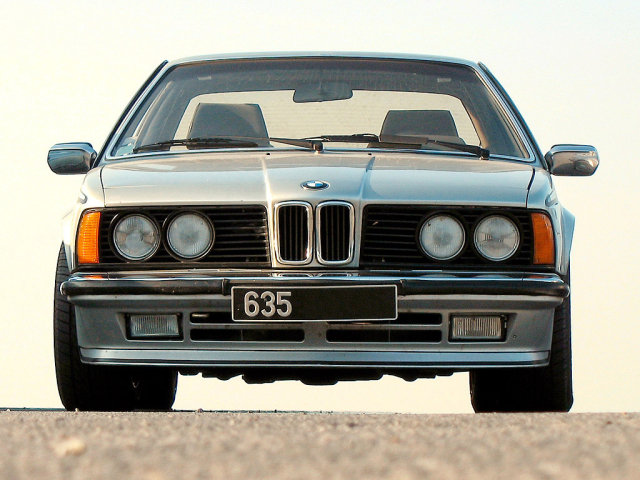 BMW 6 series 628CSi 1982 photo - 10