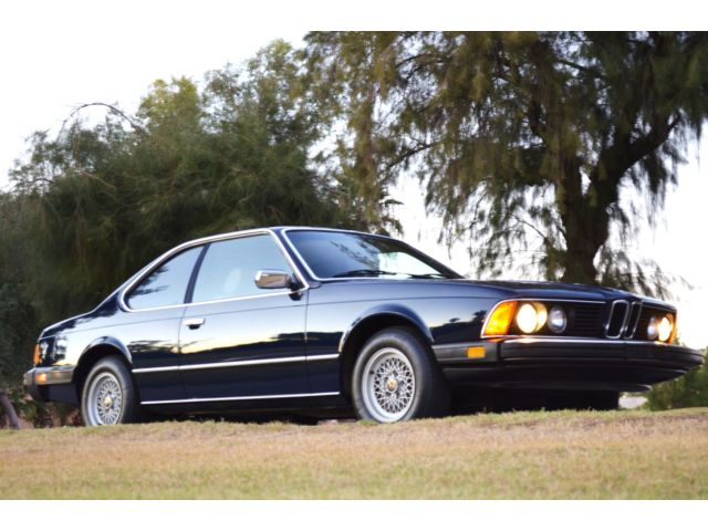 BMW 6 series 628CSi 1982 photo - 8