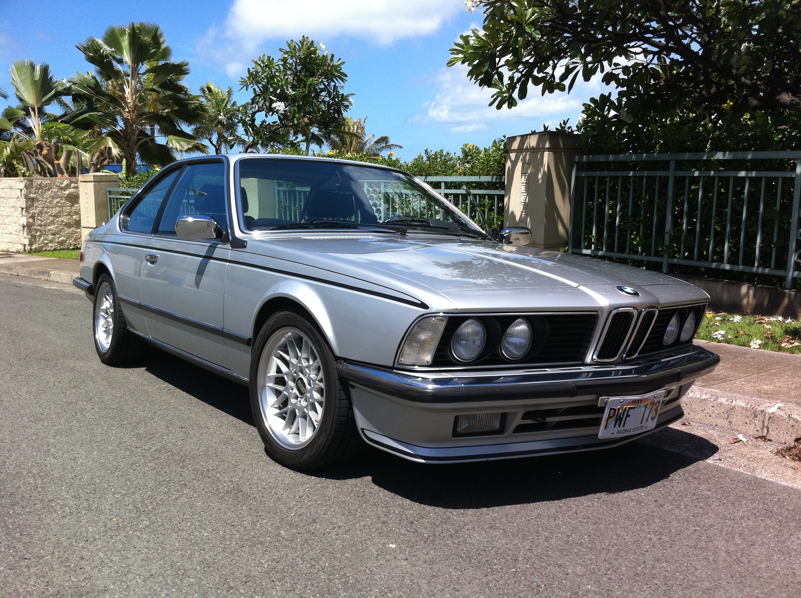 BMW 6 series 628CSi 1985 photo - 1