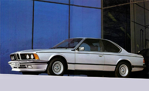 BMW 6 series 628CSi 1985 photo - 10