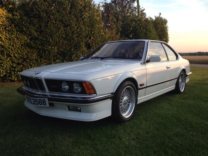 BMW 6 series 628CSi 1985 photo - 11