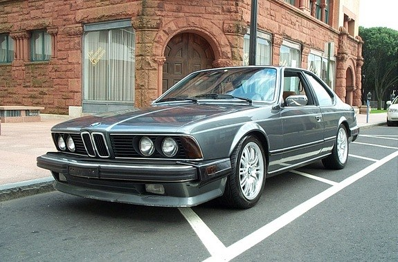 BMW 6 series 628CSi 1985 photo - 5