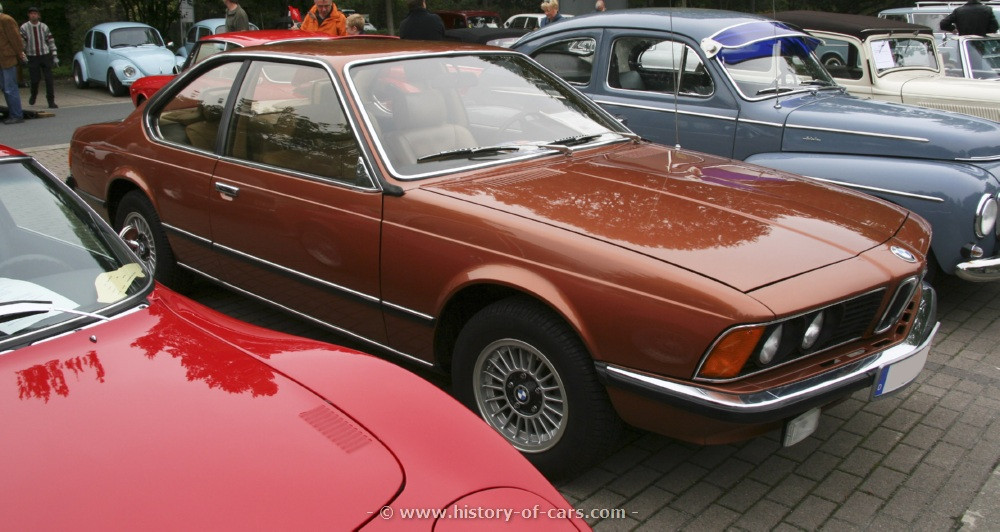 BMW 6 series 630CS 1978 photo - 10