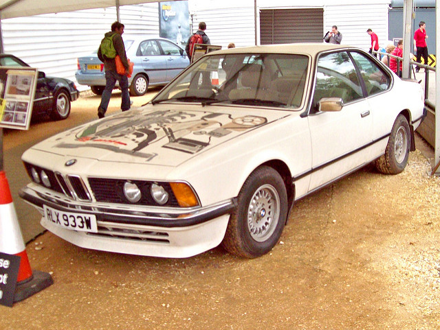 BMW 6 series 630CS 1978 photo - 11