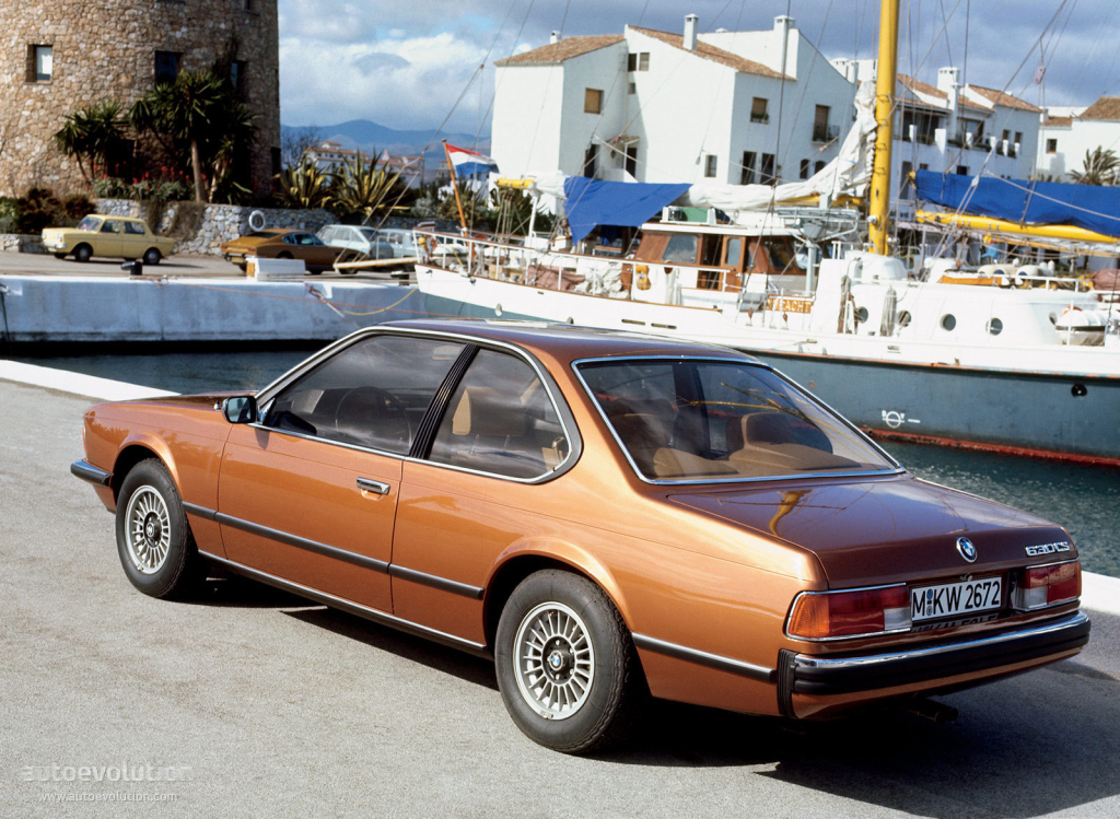 BMW 6 series 630CS 1978 photo - 4