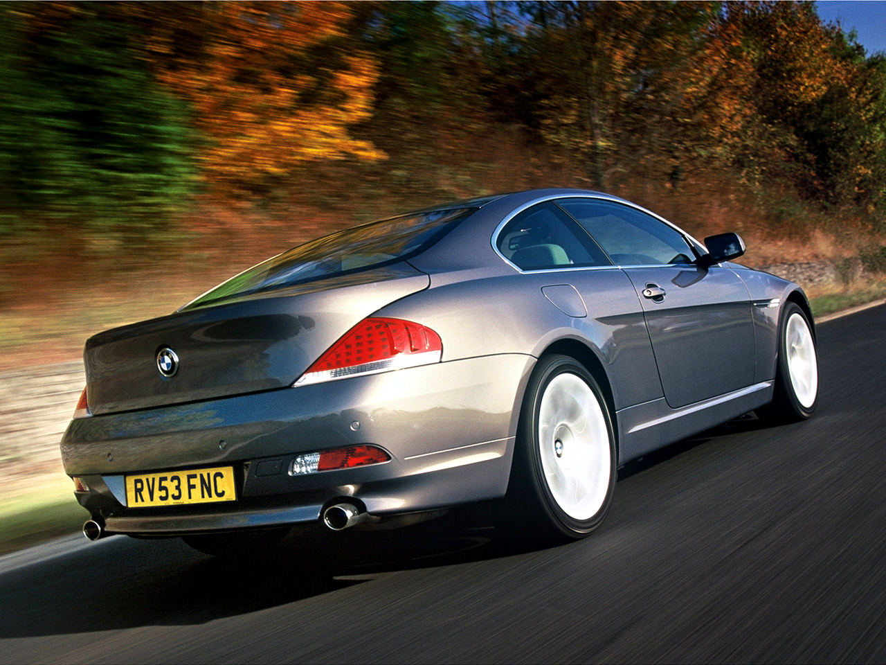 BMW 6 series 630i 2004 photo - 9