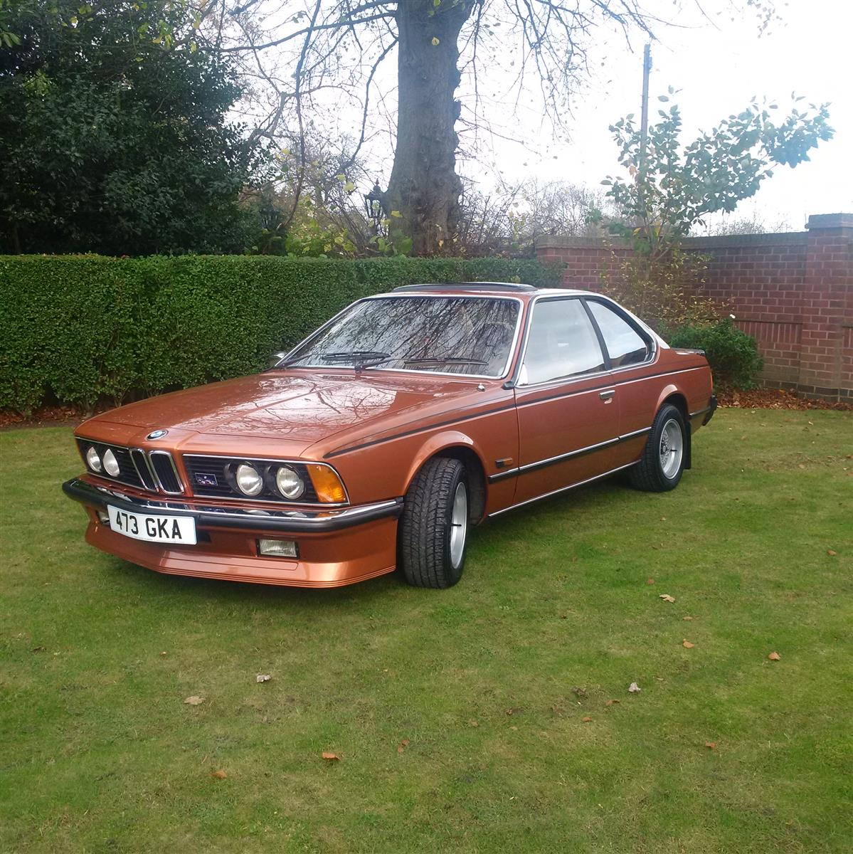 BMW 6 Series 633CSi 1977 Technical Specifications