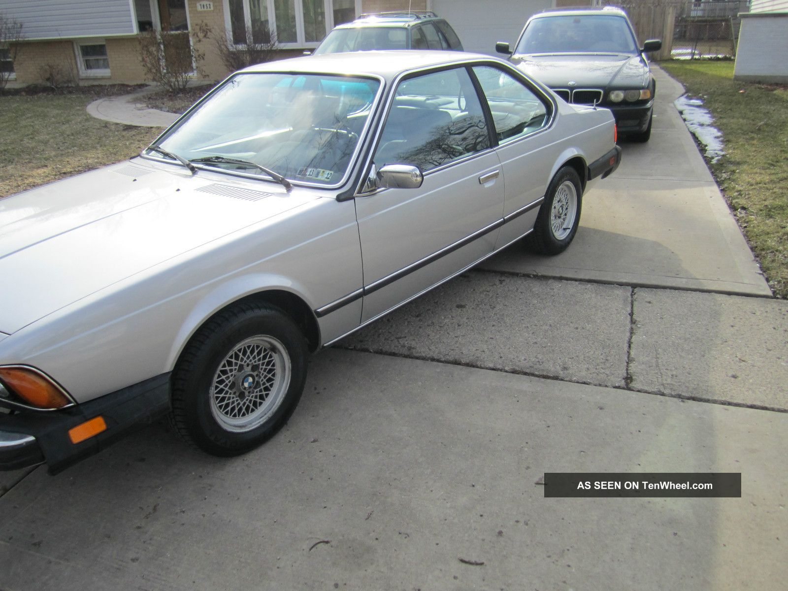 BMW 6 series 633CSi 1978 photo - 2