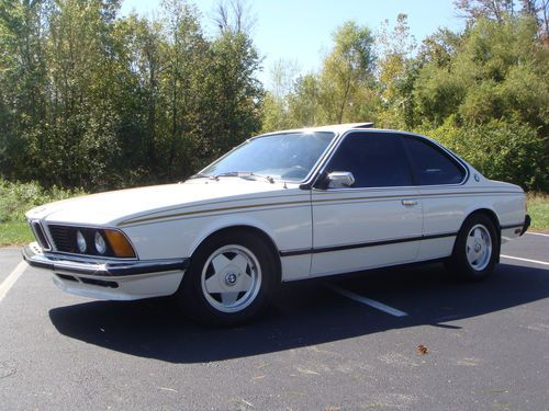 BMW 6 series 633CSi 1978 photo - 5