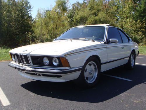 BMW 6 series 633CSi 1978 photo - 6