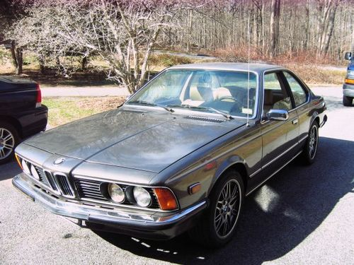 BMW 6 series 633CSi 1978 photo - 7