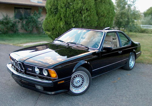 BMW 6 series 633CSi 1980 photo - 5