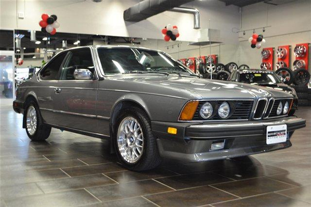 BMW 6 series 633CSi 1982 photo - 2