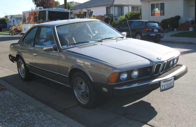 BMW 6 series 633CSi 1982 photo - 7