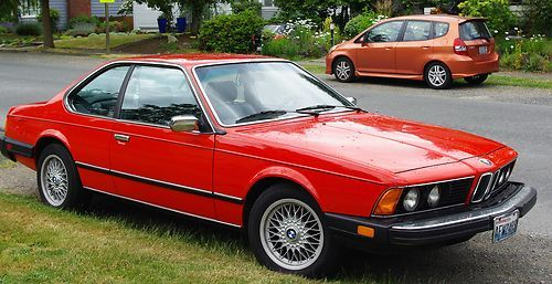 BMW 6 series 633CSi 1982 photo - 8