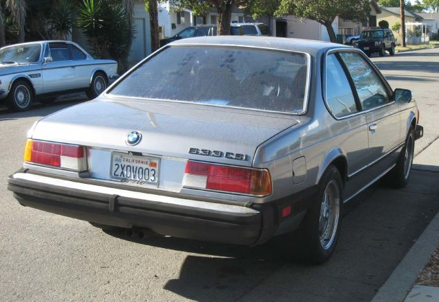 BMW 6 series 633CSi 1982 photo - 9