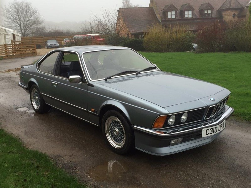 BMW 6 series 633CSi 1986 photo - 12
