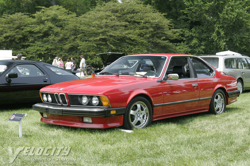 BMW 6 series 633CSi 1986 photo - 4