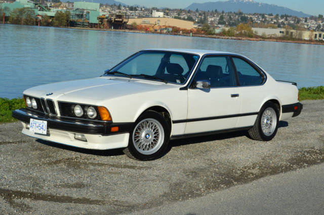 BMW 6 series 633CSi 1986 photo - 6