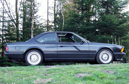 BMW 6 series 633CSi 1986 photo - 8