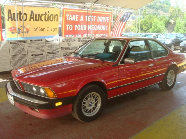 BMW 6 series 633CSi 1986 photo - 9