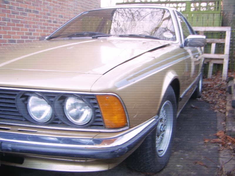 BMW 6 series 635CSi 1980 photo - 11
