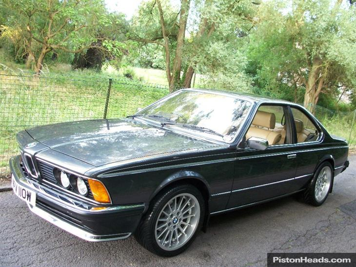 BMW 6 series 635CSi 1980 photo - 12