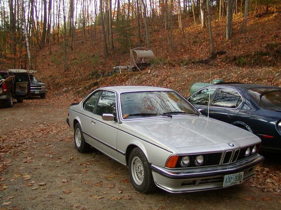 BMW 6 series 635CSi 1980 photo - 4