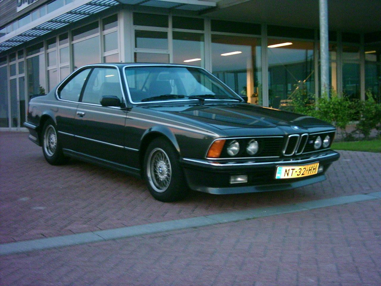 BMW 6 series 635CSi 1980 photo - 5