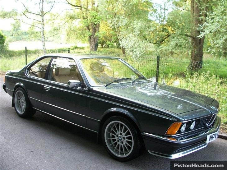 BMW 6 series 635CSi 1980 photo - 7