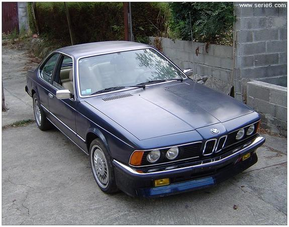 BMW 6 series 635CSi 1980 photo - 8