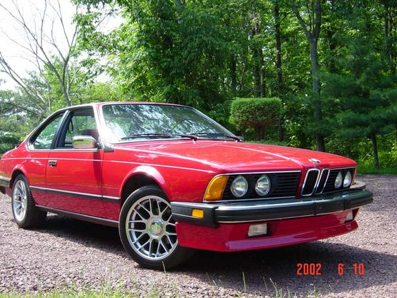 BMW 6 series 635CSi 1986 photo - 10